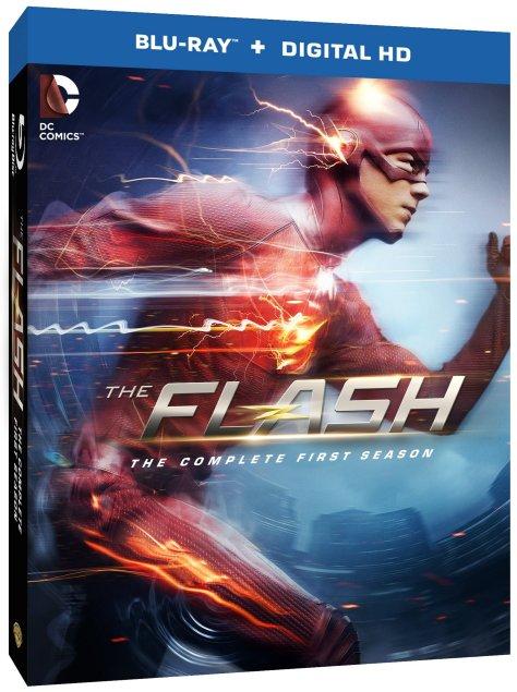 flash season 1 blu-ray art