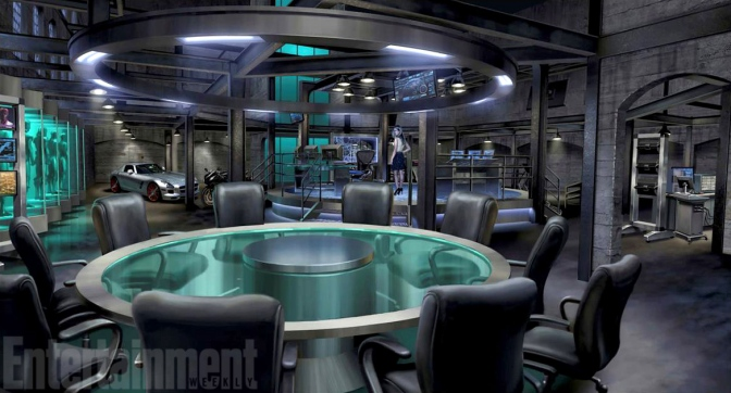 "Season 4 will see the new ""Arrow Bunker"""