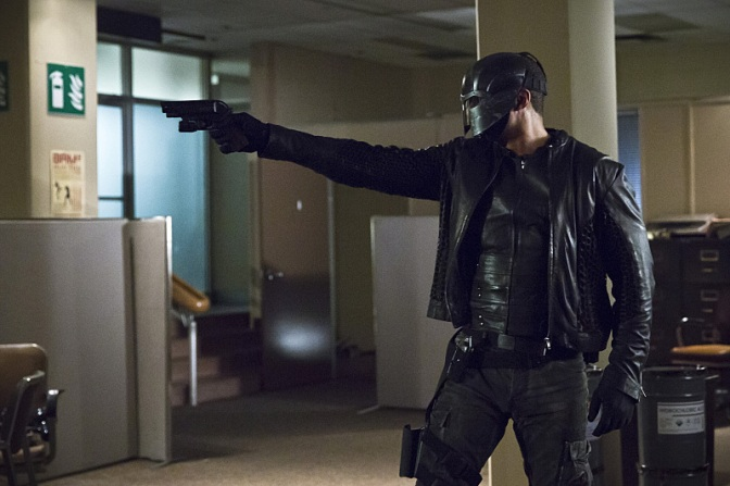 Diggle will be getting a new helmet in season 5